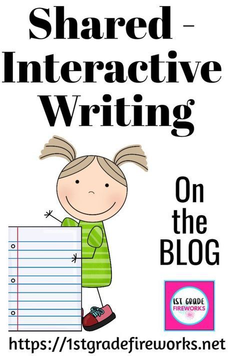 2019 is the Year of Balanced Literacy. Week 5: Modeled / Interactive Writing Shared - Interactive W