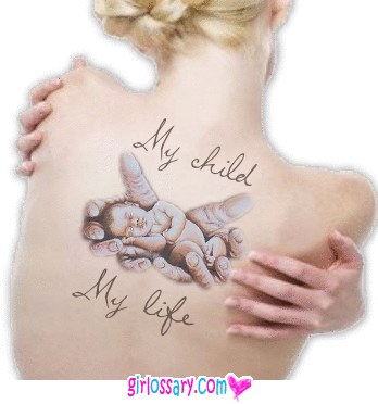 Mother Daughter Tattoo Quotes | Tattoos MySpace Comments, Tattoos ...
