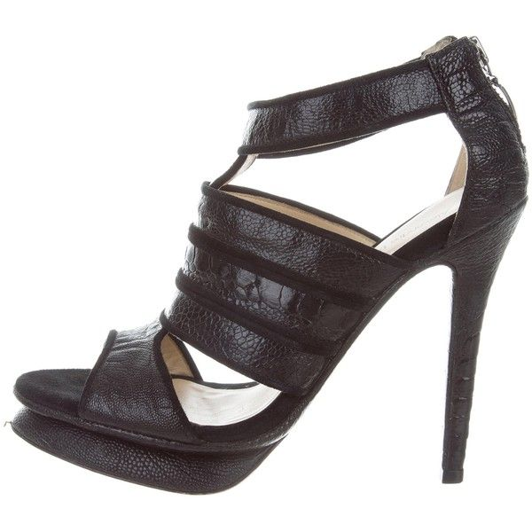 Pre-owned - Leather heels Alexandre Birman Top-Rated Ebay Cheap Price Shopping Online Free Shipping Discount Authentic Online Pictures Cheap Price ppXE6xLr2