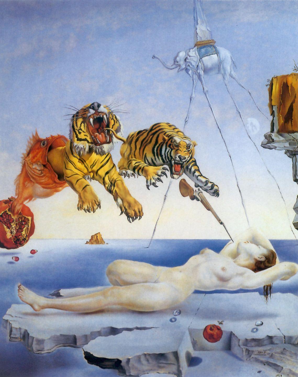 Surto de esquizofrenia pode ser detectado com obras de Dalí