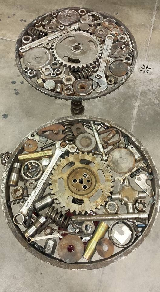 Driven Restorations Car Parts Art Restoration Shop Office Ideas