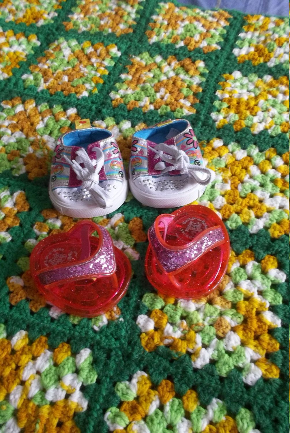 3 Pairs Build a Bear Shoes by cherlove2 on Etsy