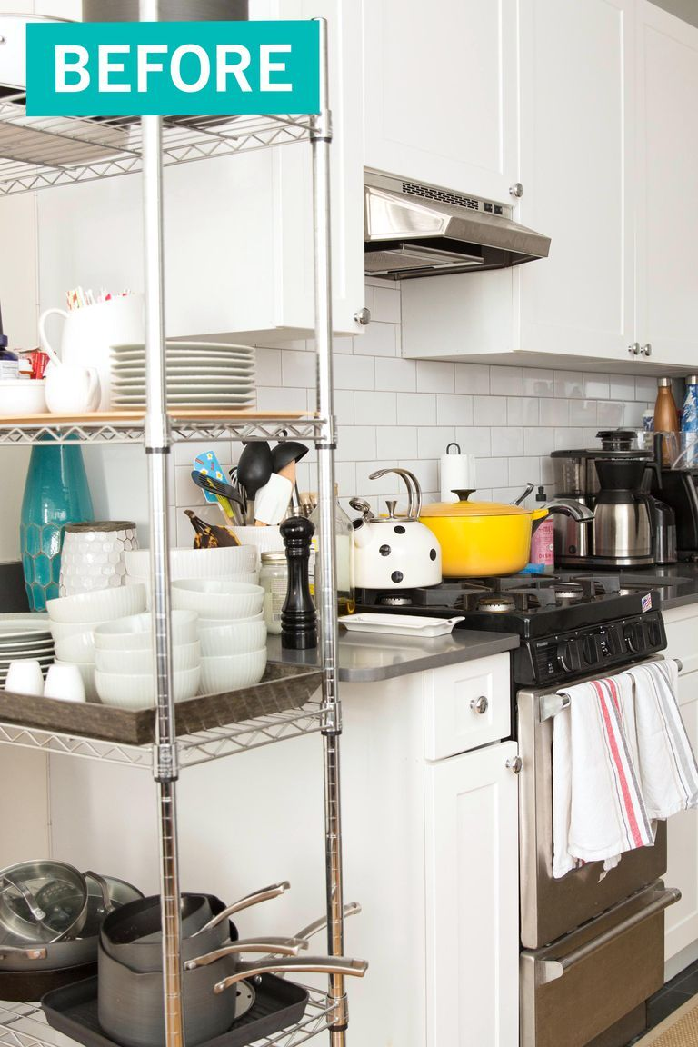 these kitchen organization before and after photos will delight every type a person home on kitchen organization before and after id=12105