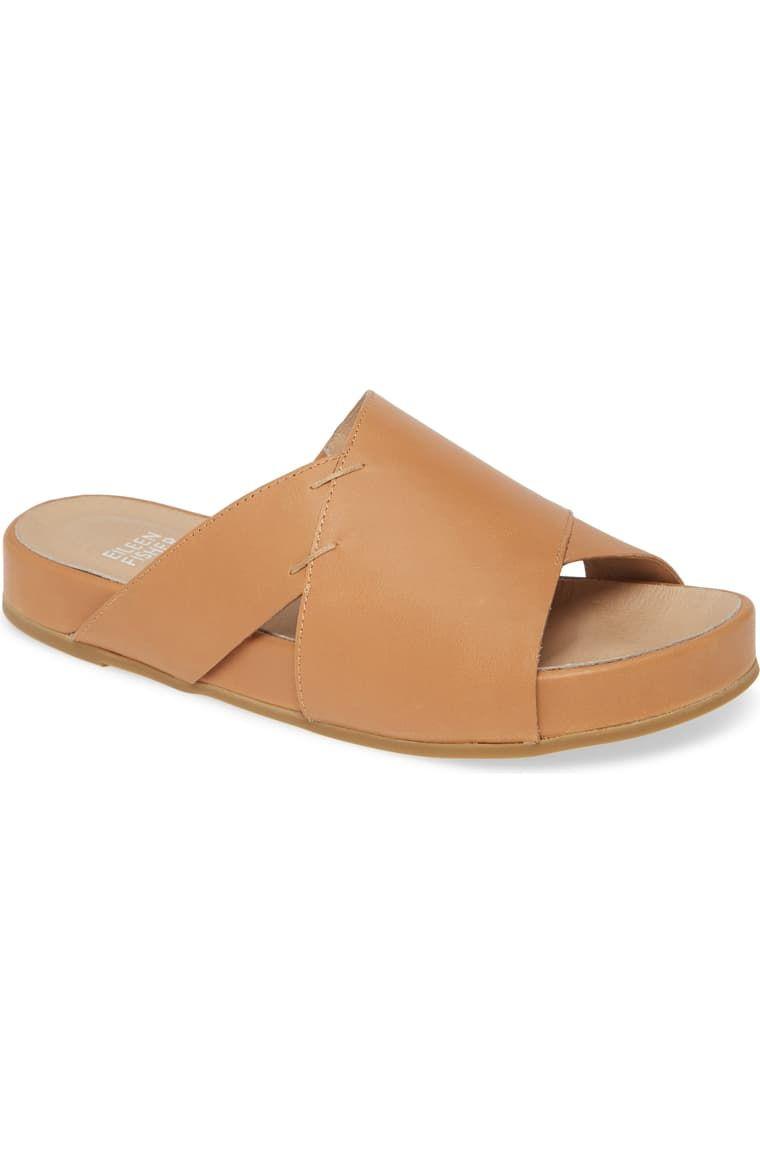 Eileen fisher ease slide sandal women in 2020 womens