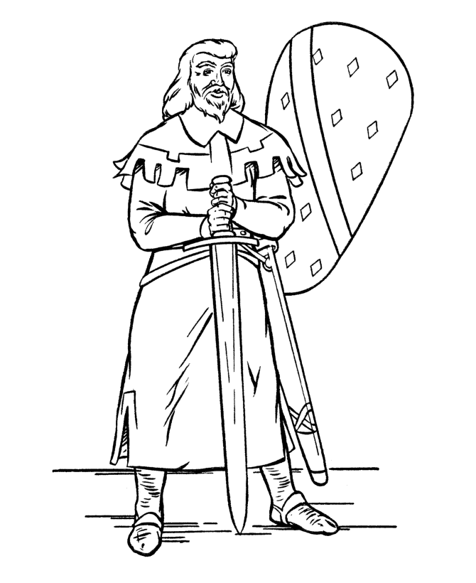 Kings Is Holding A Sword Coloring Pages For Kids C9w Printable Kings Queens And Princesses Coloring Pages For Kids Malvorlagen Ausmalen Vorlagen