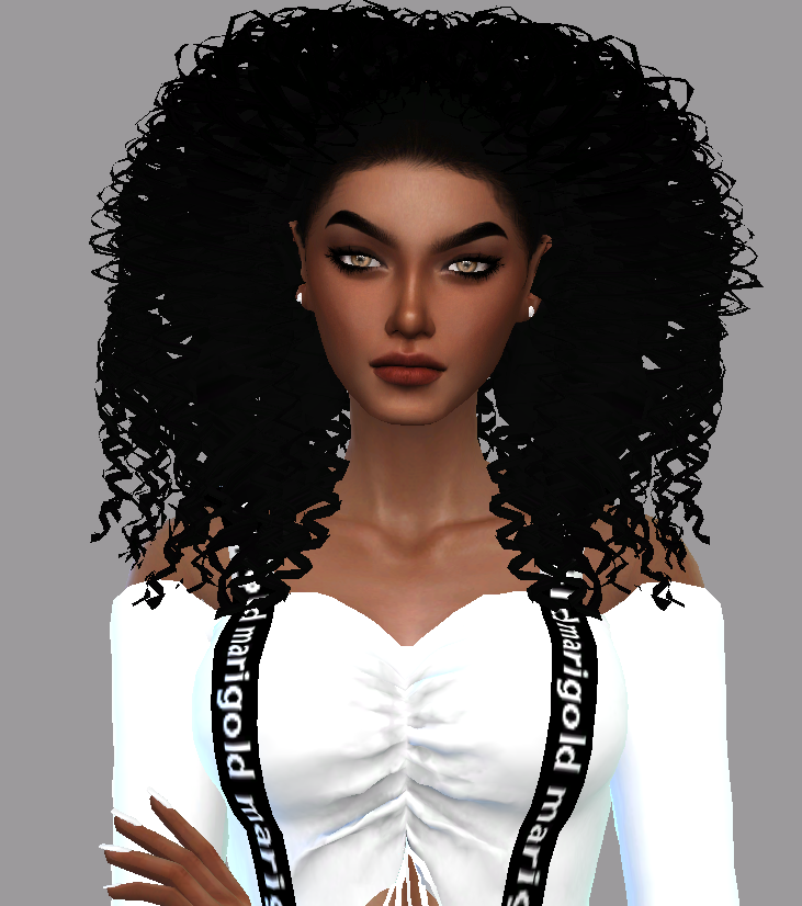 Curly Hair Download Sims 4 Cc: Curly Hair / Downloads The Sims 4