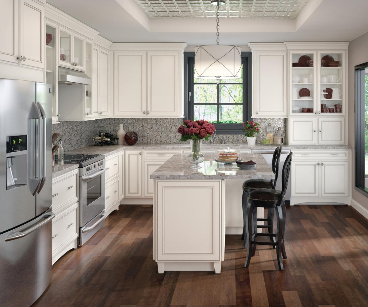 Hannaford Maple Dove White With Cinder Glaze Kitchen Design Small Kitchen Remodel Small Diy Kitchen Remodel