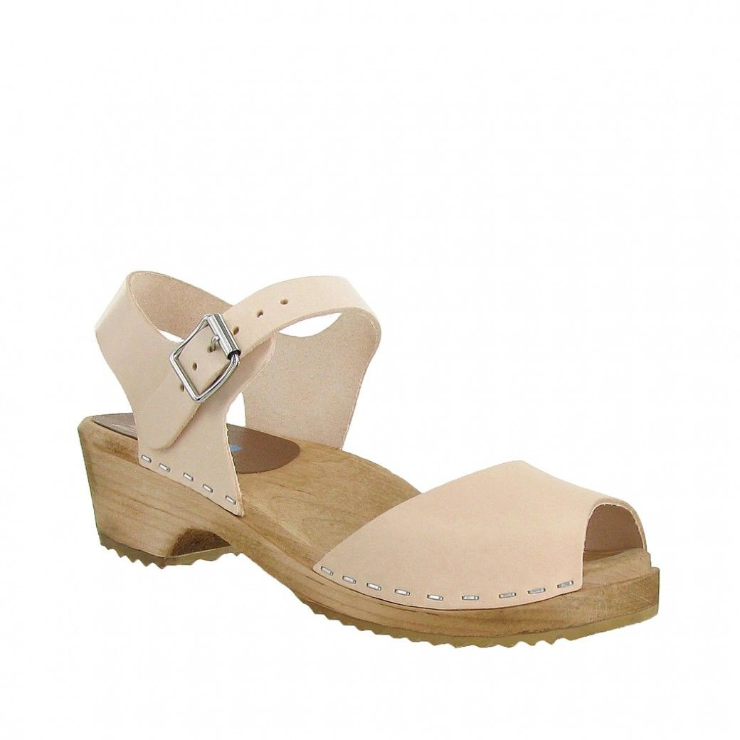 286ddc79699 The MIA Anja is a sandal-style Swedish clog made of all Swedish materials.  Made in Sweden.