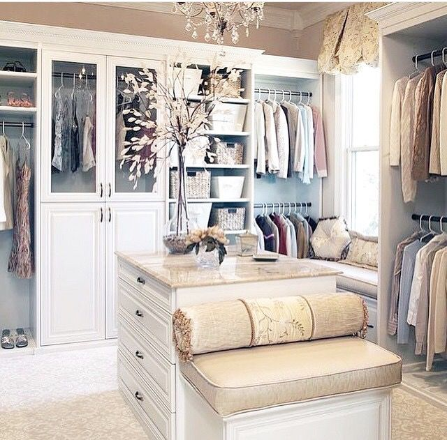 Pin by Shay on Walk in Closet Ideas | Pinterest | House