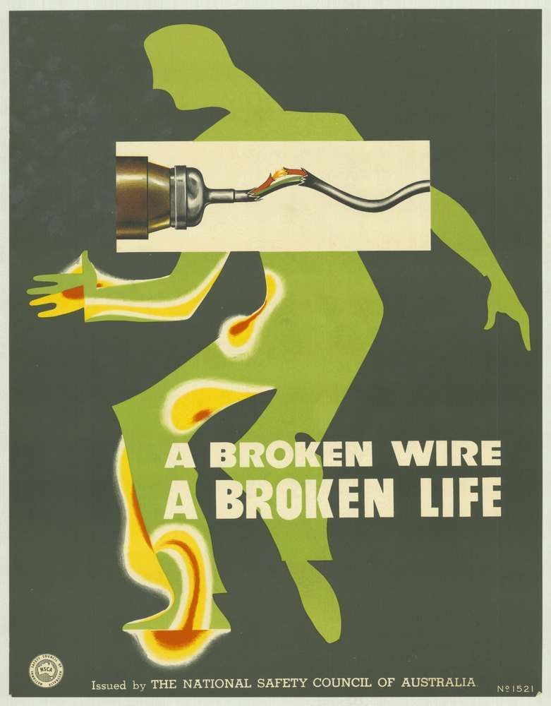 National Safety Council of Australia Posters 19701980