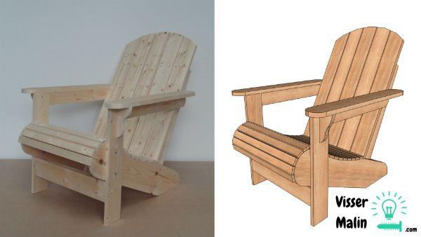 fabriquer une chaise de jardin