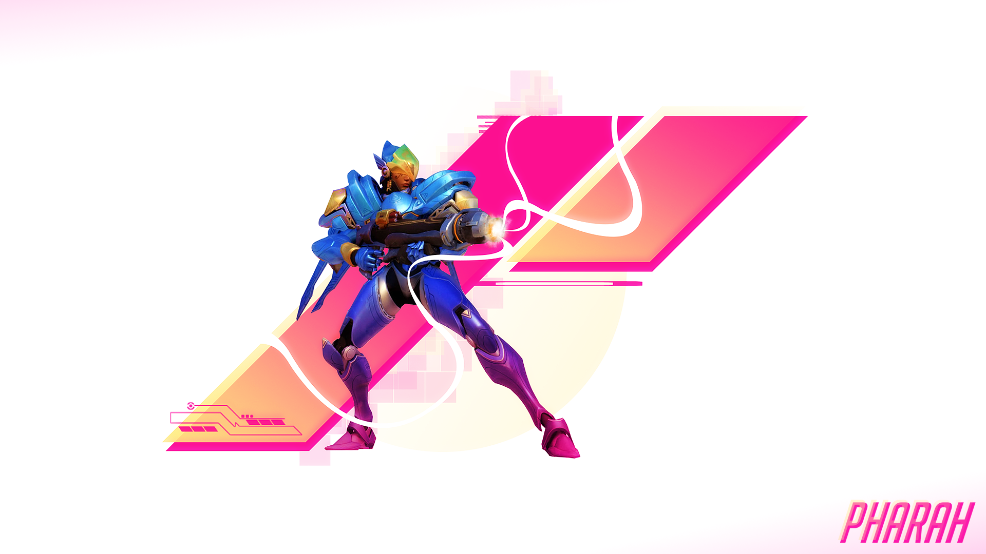 OC Pharah Overwatch Wallpaper [1920x1080] Overwatch