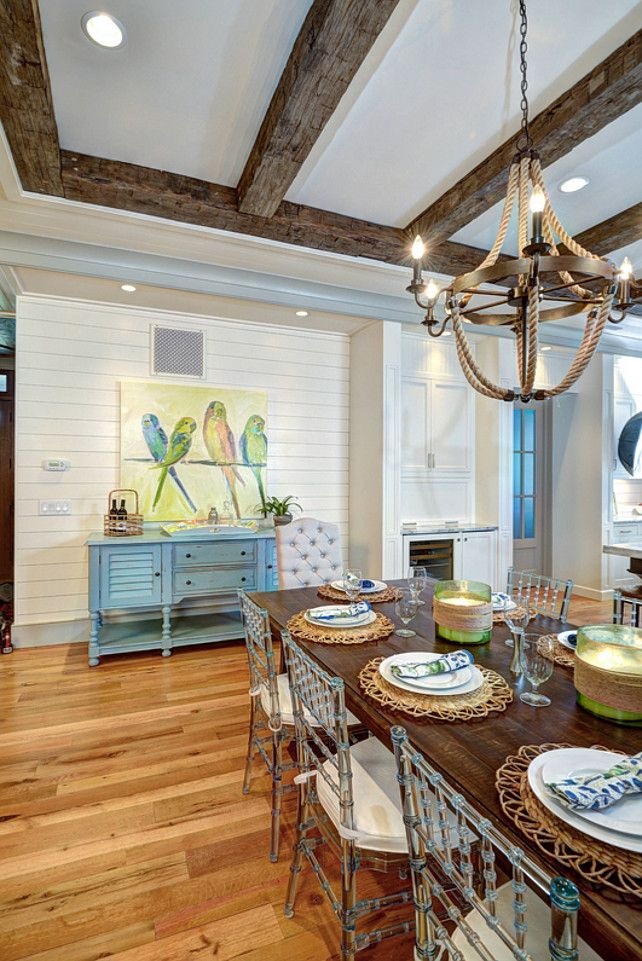 South Carolina Elevated Beach House Quot Rope Chandelier