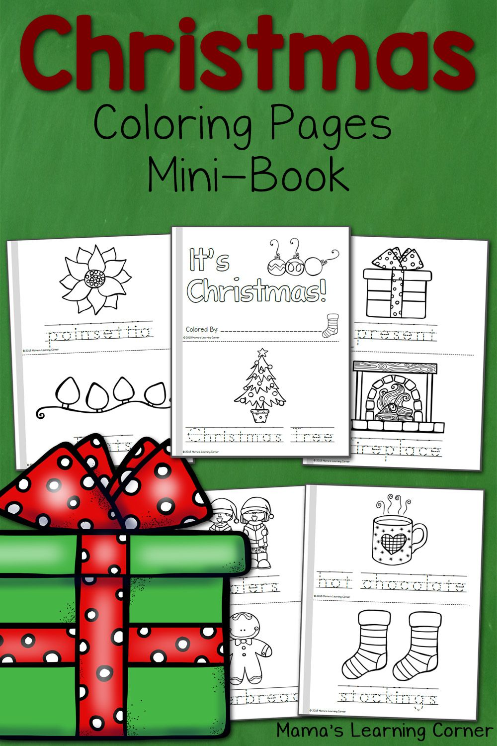 Christmas Coloring Pages | Coloring books, Homeschool and School