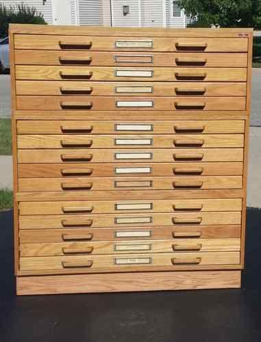 15 drawer stacor oak blueprint map artist drafting flat file storage 15 drawer stacor oak blueprint map artist drafting flat file storage cabinet malvernweather Choice Image