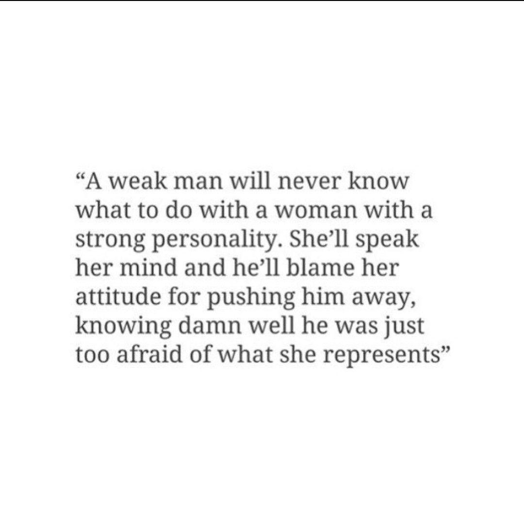 Strong Woman Vs Weak Man