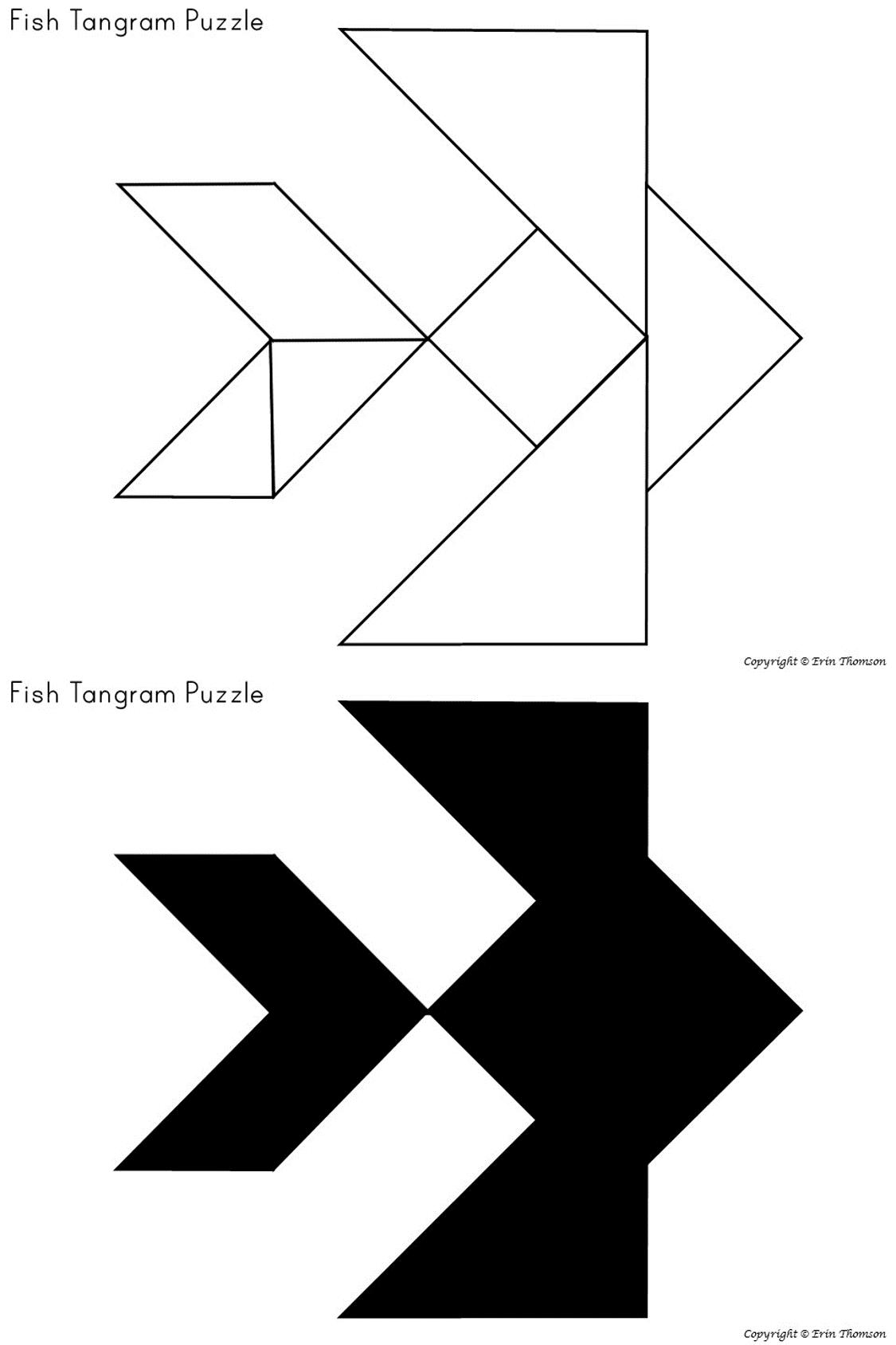 Tangram Puzzles Ocean