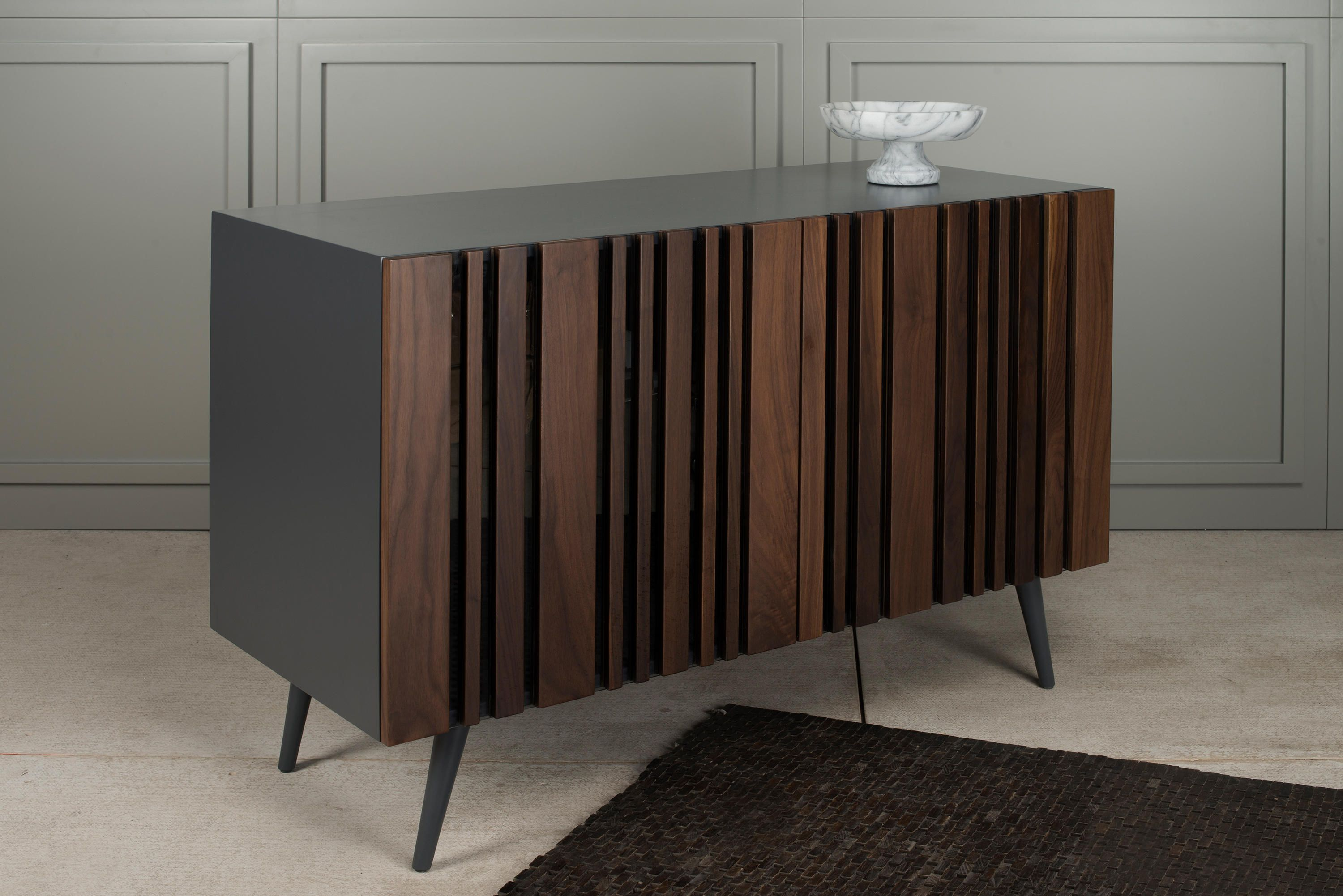 Striped Walnut Buffet Designer Sideboards From Gotwob All
