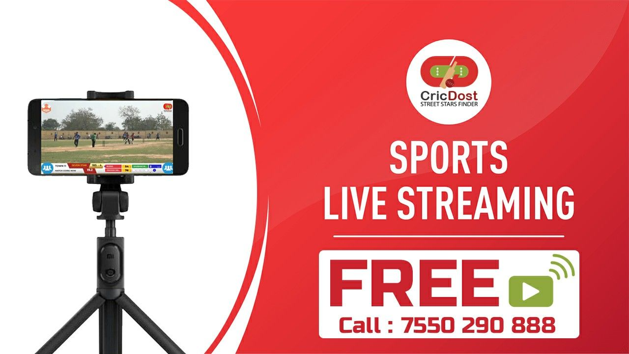 Sports Live Streaming Free. Call on 7550290888 in 2020