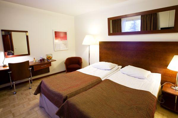 Standard room in Sokos Hotel Vaakuna, Rovaniemi, Lapland, Finland