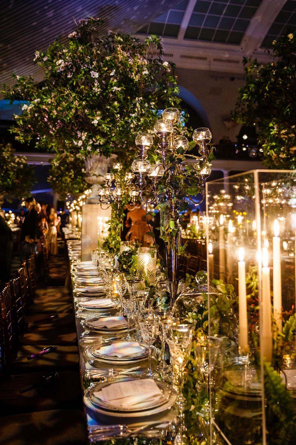 Secret Garden Theme: Elizabeth Fisch And Michael Dishi's Wedding In New York