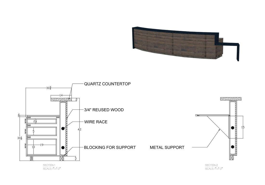 Image result for front desk detail