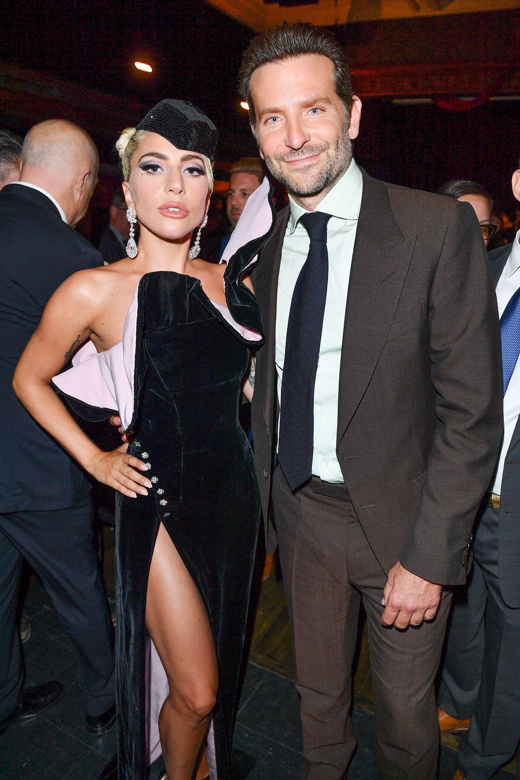 Lady Gaga and Bradley Cooper Get Close, Plus Julia Roberts, Robert