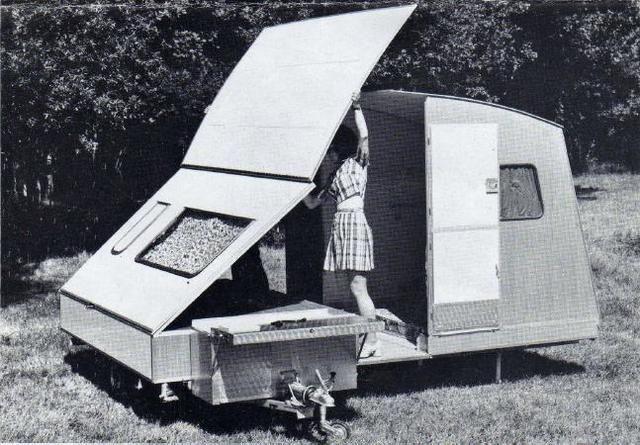 like mine campers pinterest mini caravane caravane et caravane rapido. Black Bedroom Furniture Sets. Home Design Ideas