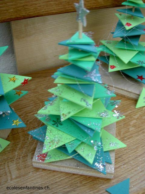 ondecole.ch - Sapins de Noël en mousse