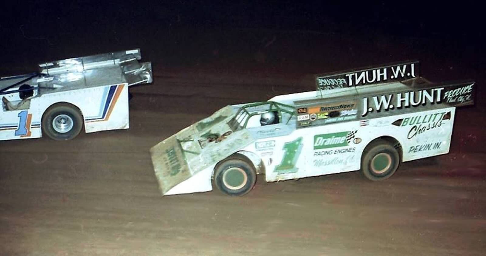 Charlie Swartz mid engine wedge dirt late model no rules | racing ...