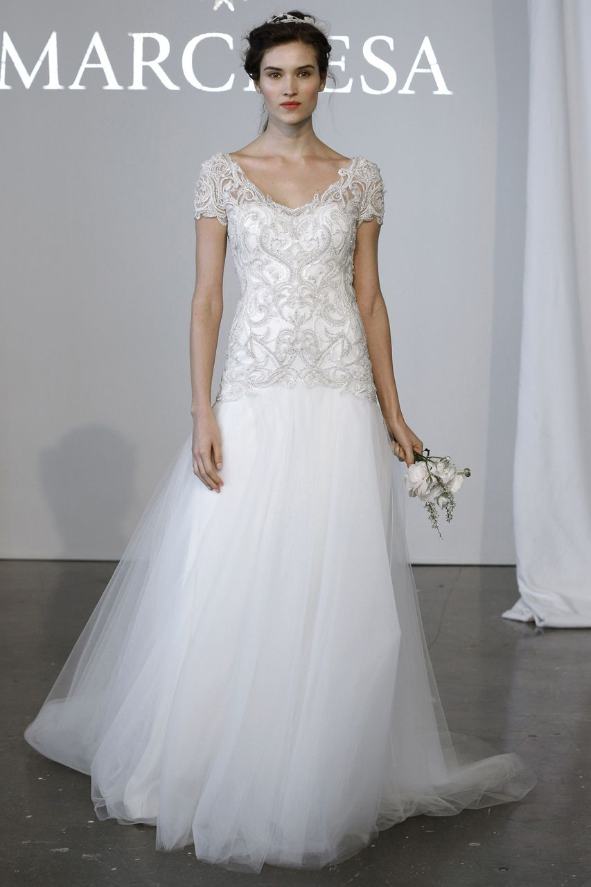 Best dresses to wear to a wedding reception  Wedding Gown Gallery  Marchesa Gowns and Weddings