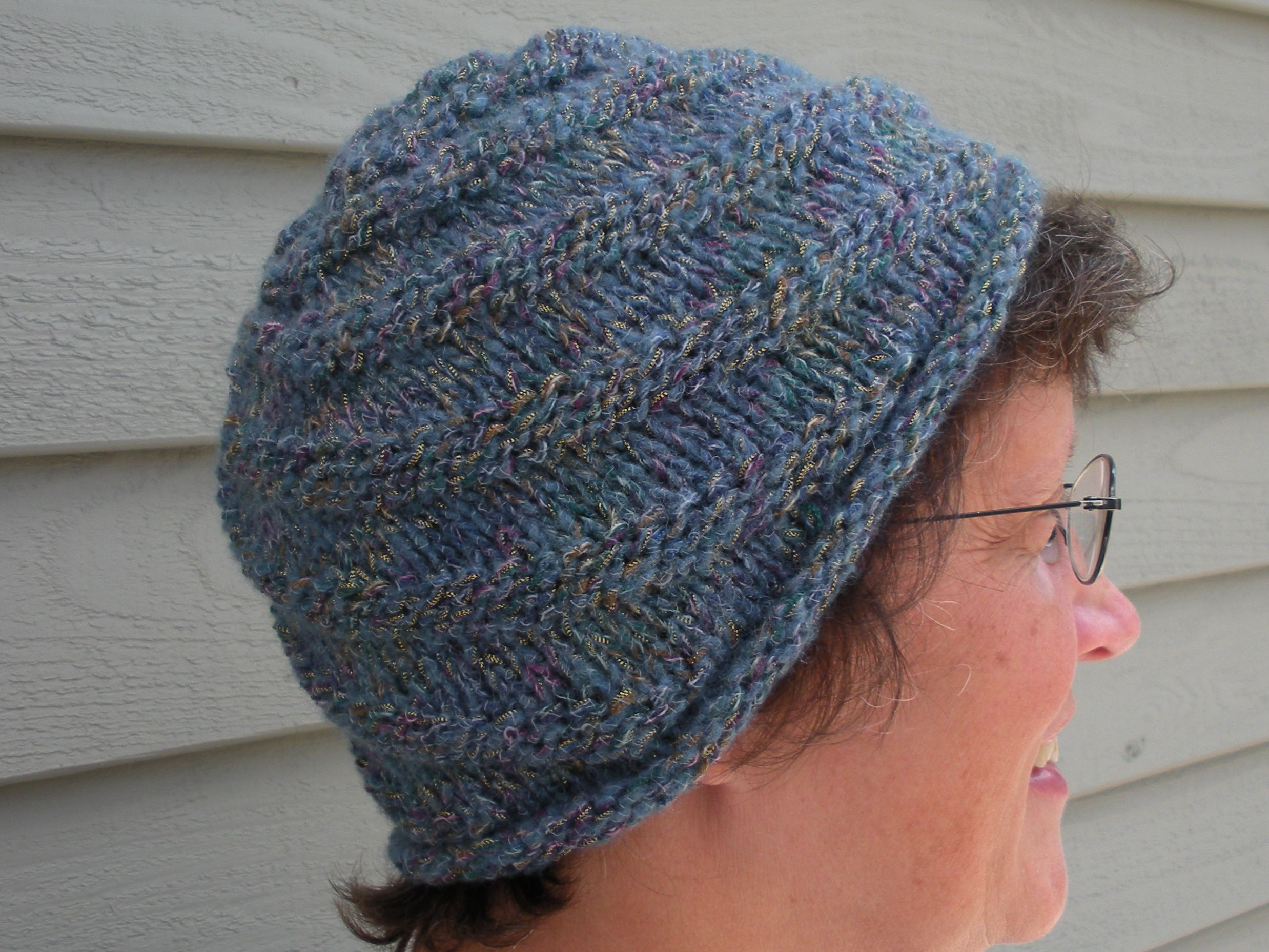 Head Huggers: Knit Pattern: Spiral Knit Cap (2nd Version) | hats ...