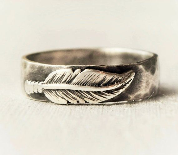Sterling Silver Feather Ring FREE USA SHIPPING By Lovestrucksoul