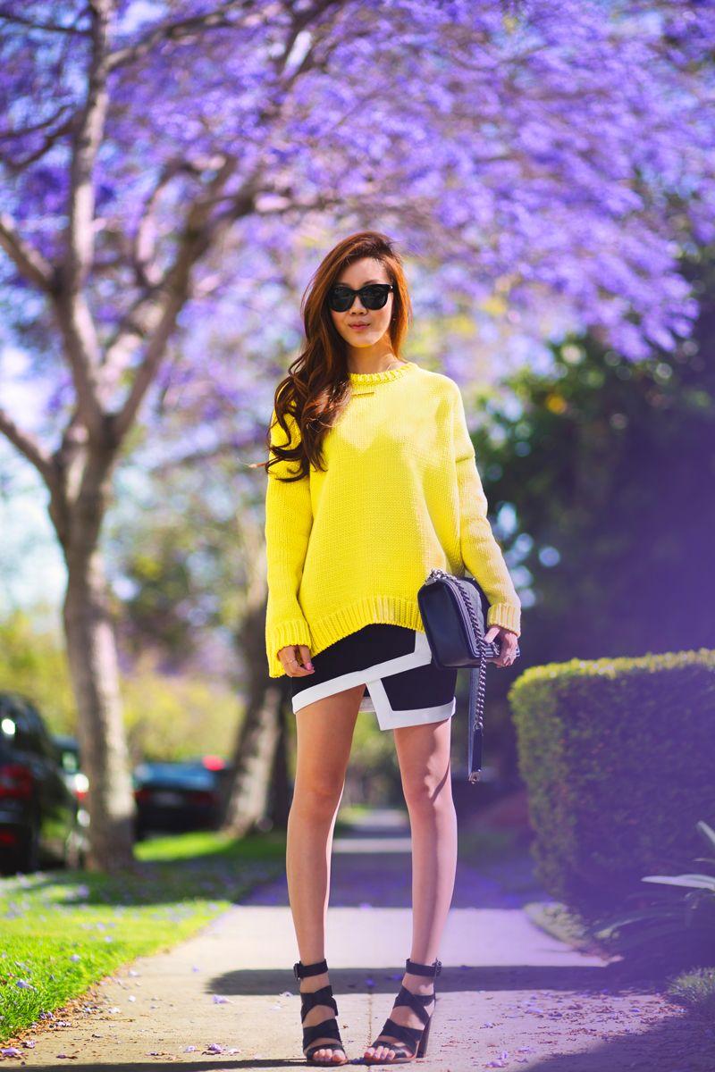 A Purple Yellow Moment - Tsangtastic