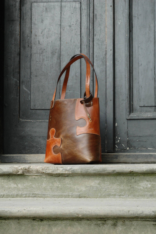 Camel Leather Tote Bag Leather Side Bag Leather Hobo Leather Shopping Bag Leather Shoulder Bag Large Tote Bag Big Leather Bag