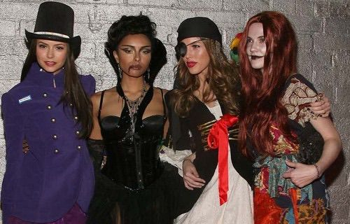 Image via We Heart It #Bonnie #Halloween #NinaDobrev #thevampirediaries #elenagilbert #tvd #katgraham