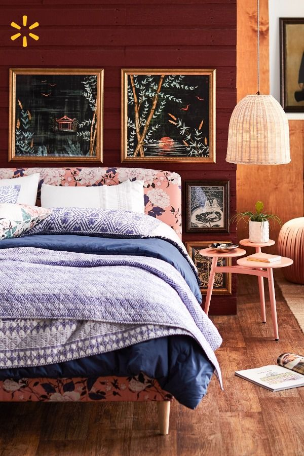 Receiving Room Interior Design: Take Your Bedroom From Basic To Boho With This Eclectic