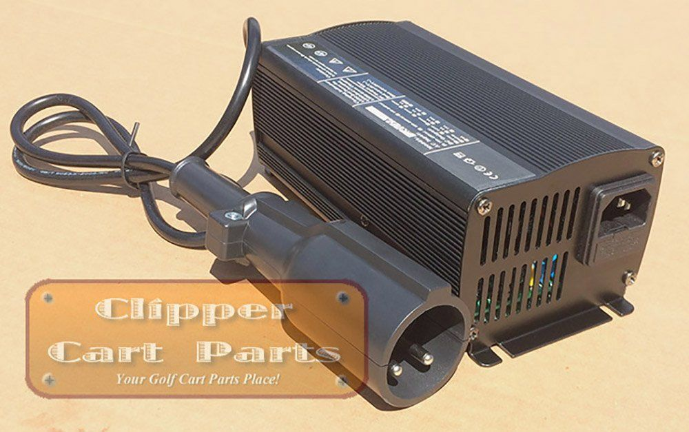Golf Clubs New Club Car Charger 48 Volt 5a Cart Battery Onboard Computer Must Be Byped