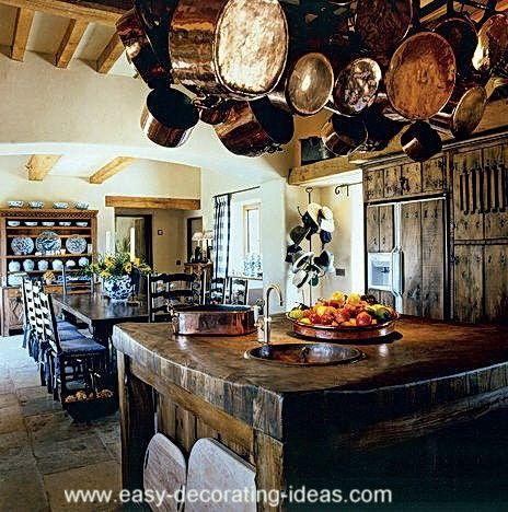 Fotos de cocinas r sticas italian decor pinterest for Cocinas rusticas italianas