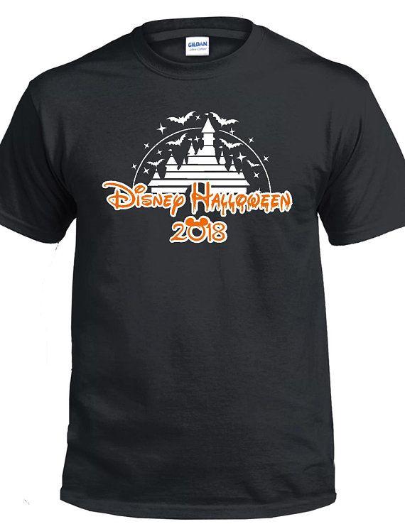 Disney Halloween Shirt For Family | Disneyland halloween party. Disney halloween shirts. Disney halloween
