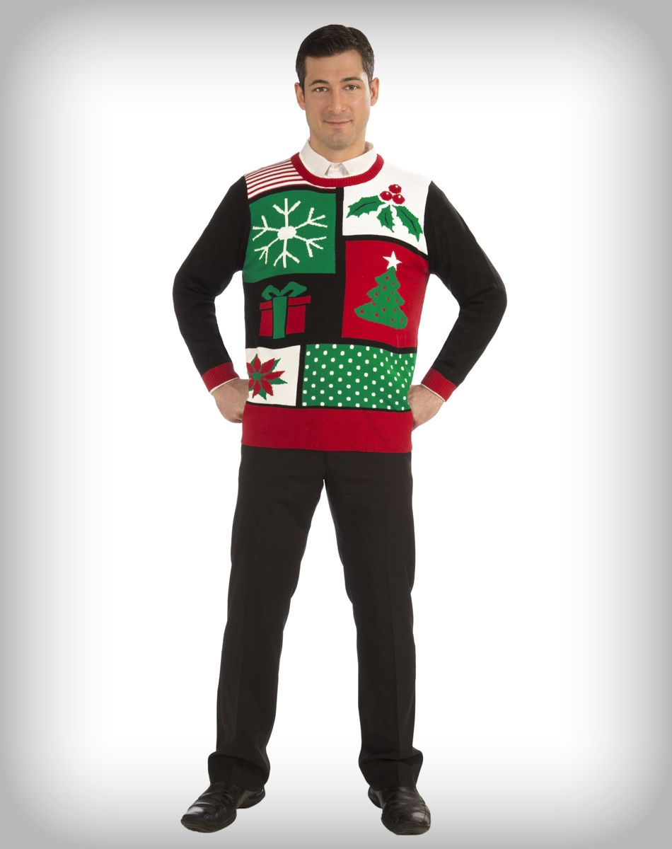 Jolly Holiday Adult Sweater | Ugly Christmas sweaters! | Pinterest ...