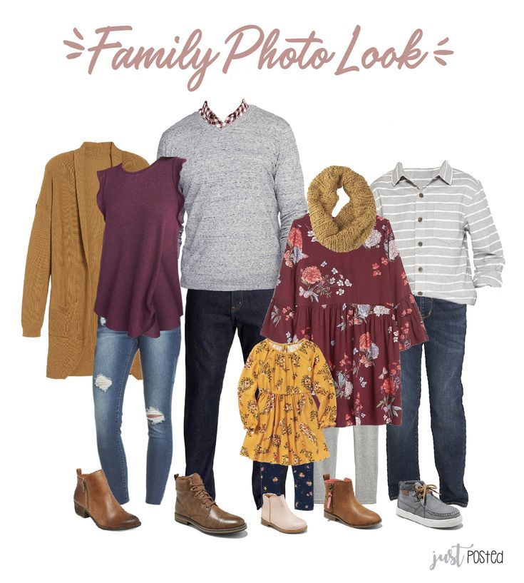 Ideas for What to Wear for Family Pictures #familyphotooutfits