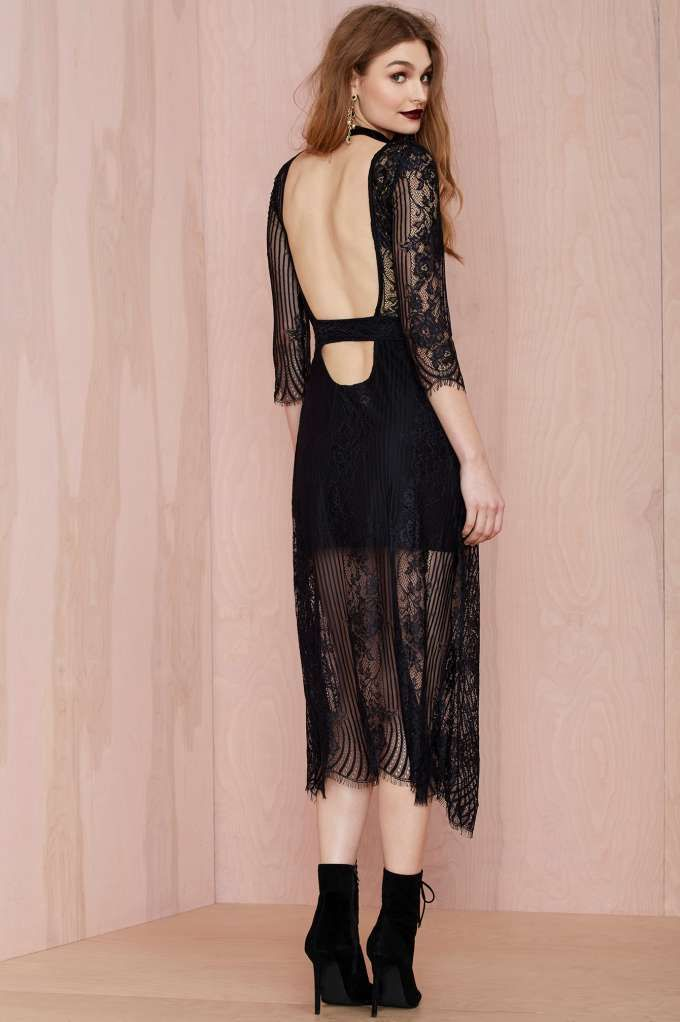 2fefb84d5df For Love and Lemons San Marcos Dress - Black - Going Out