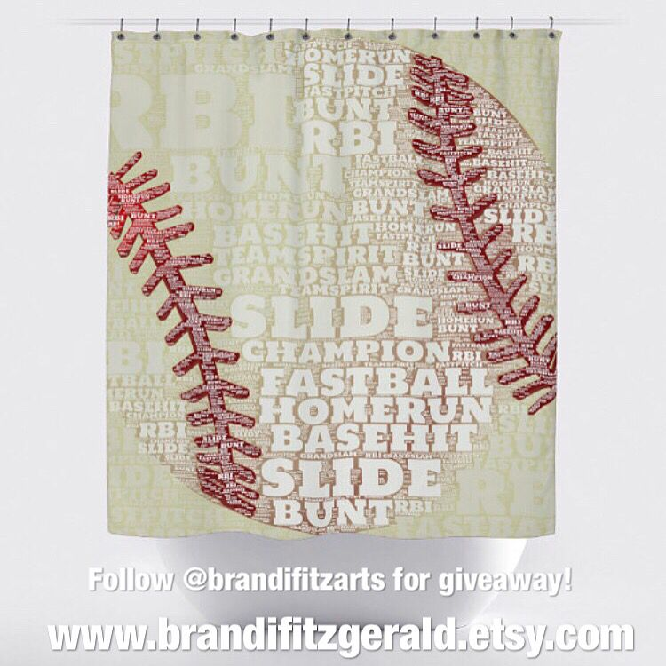 Follow @brandifitzarts on IG for a chance to win this shower curtain!