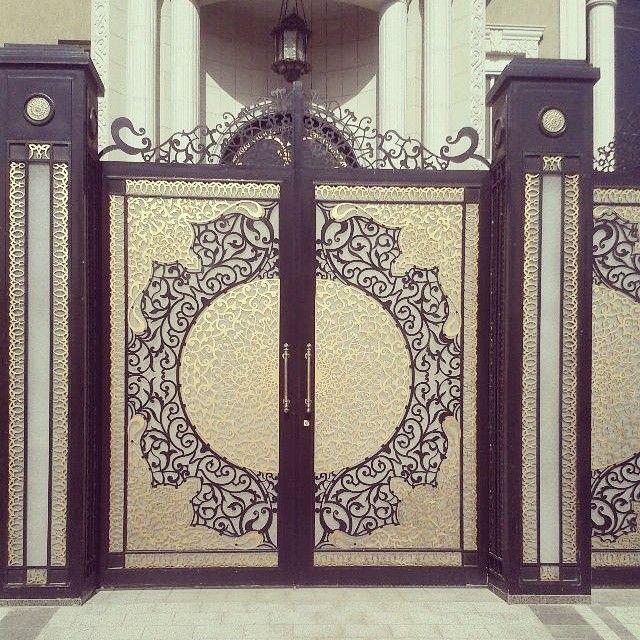 باب قص ليزر 6 ملي Entrance Gates Design Iron Door Design Unique Doors