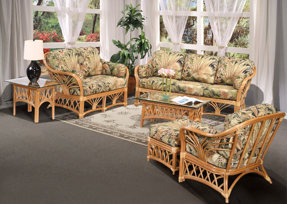 rattanbamboo inspired furniture perfect for that aloha
