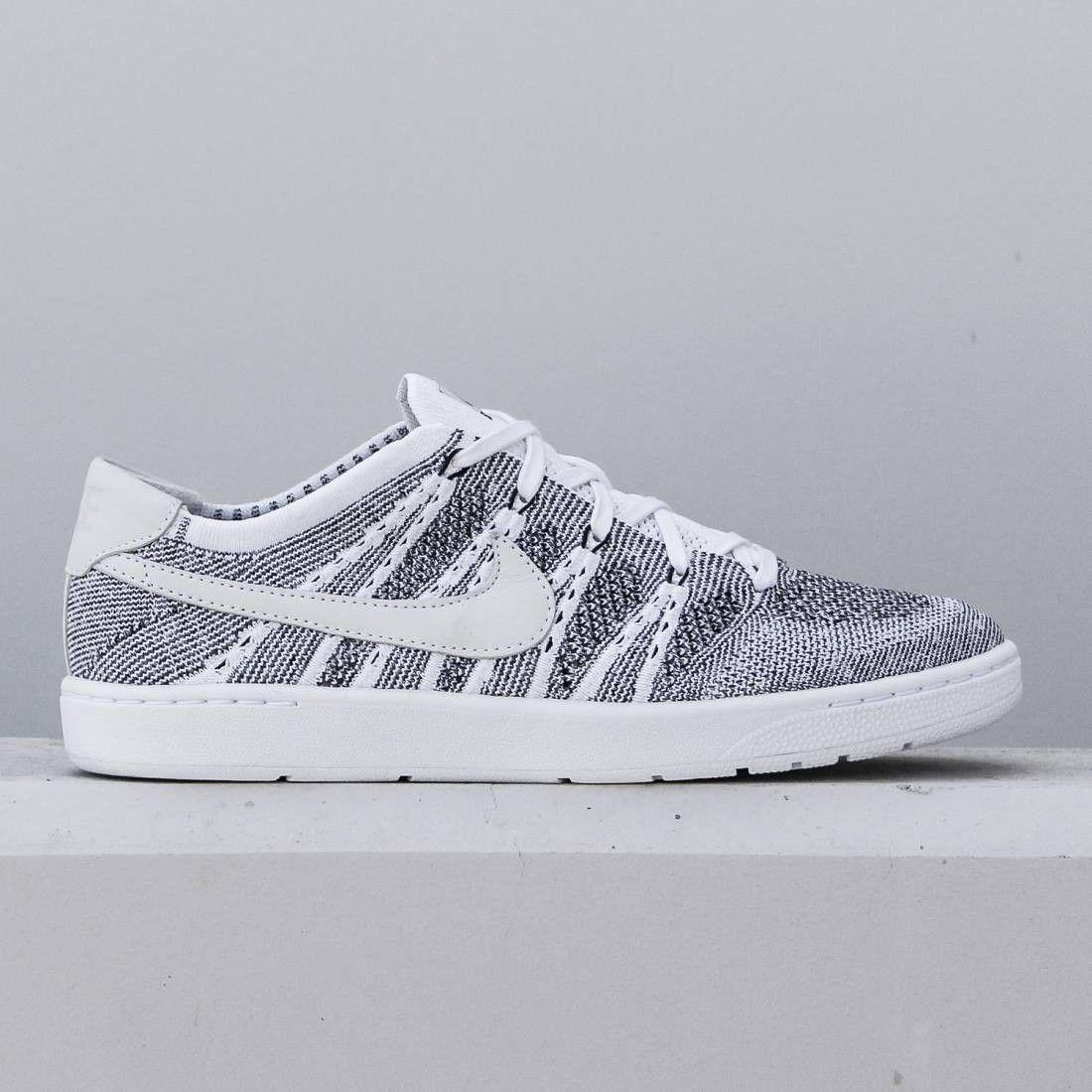 Nike Men Tennis Classic Ultra Flyknit Shoe (white / white ...