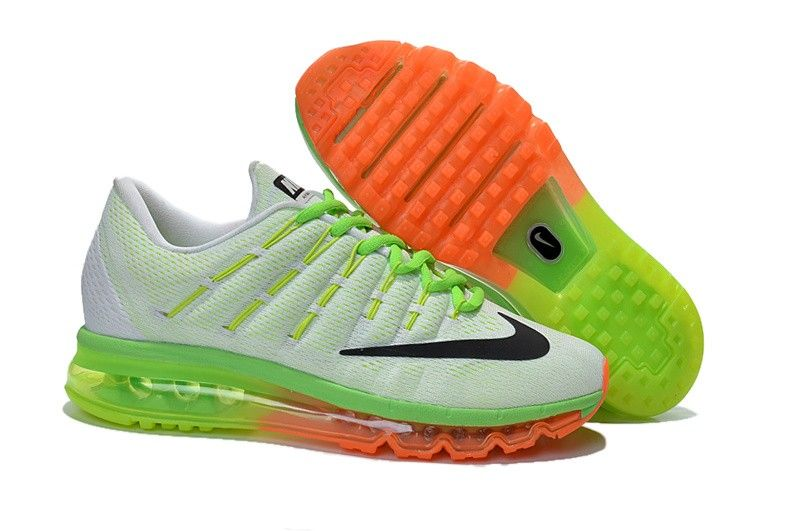 Nike 2016 Homme Max Blanchenoiremerald Outlet Pas Air Cher HqCnwfRWxp