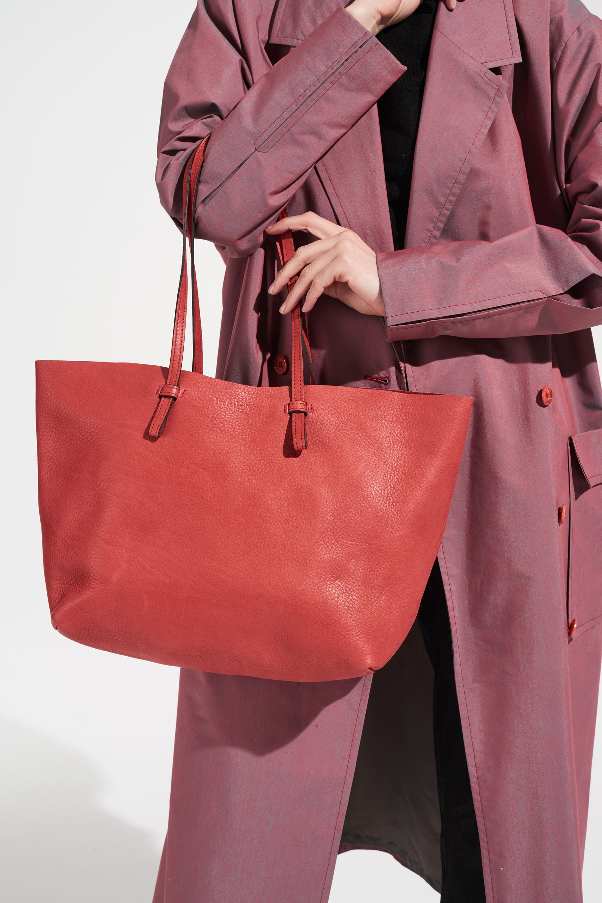 En Naturel L Shopping Féminin Cabas Joy Cuir SoupleSac Taille OwPN0knZ8X