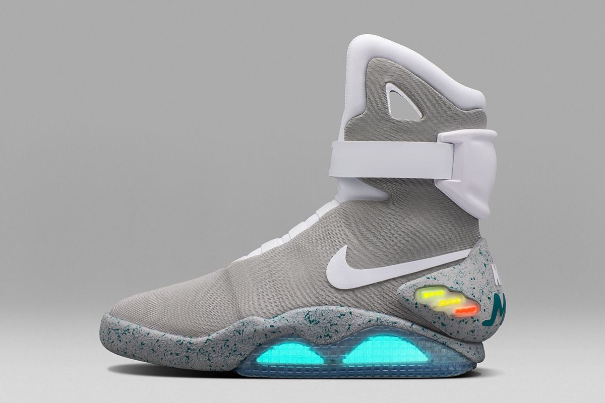 2. Nike Air Mag Top 10 Most Expensive Basketball Shoes